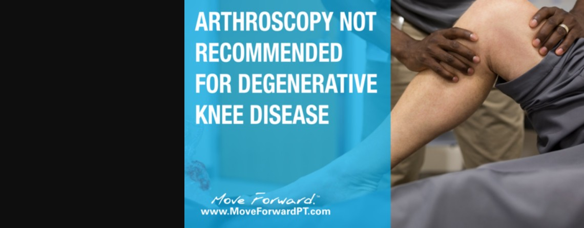 Knee OA: To Scope or Not To Scope?